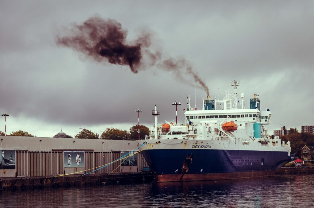 dock, cable innovator, air pollution