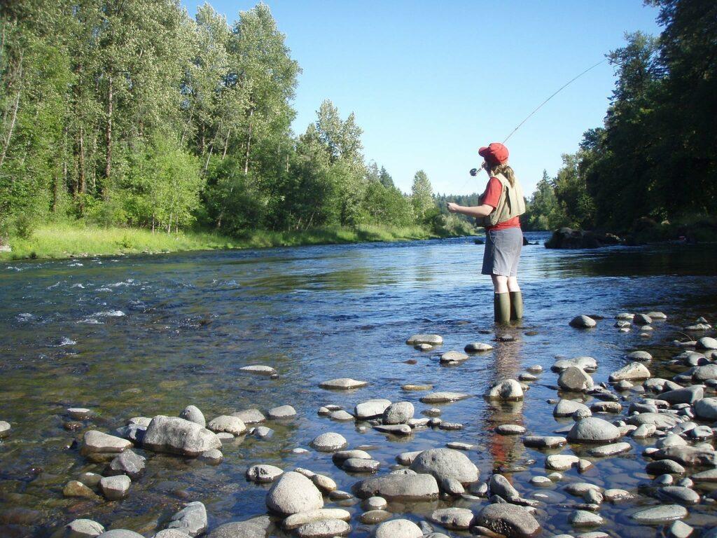 oregon, river, stream