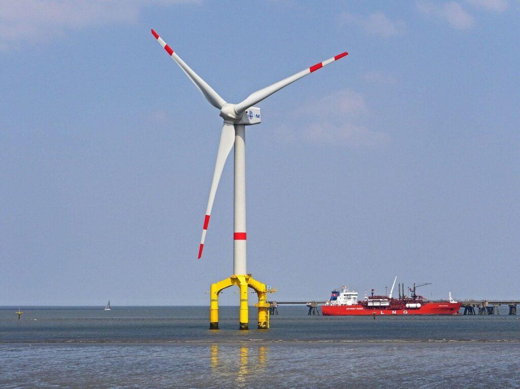 pinwheel, offshore, wadden sea