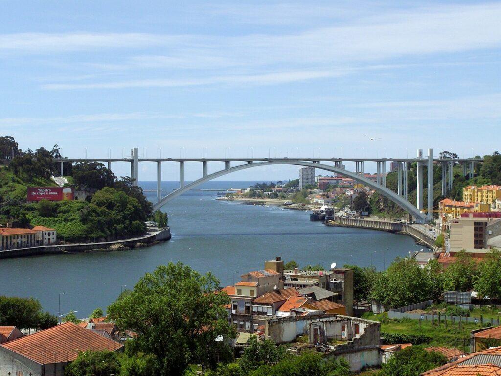 porto, portugal, bridge