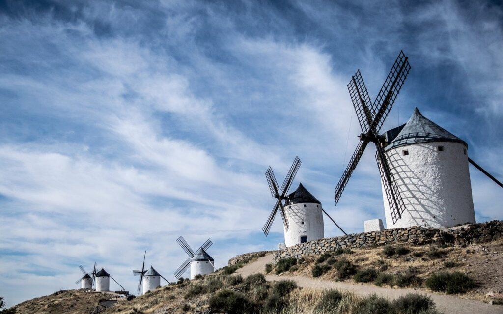 windmills, consuegra, toledo